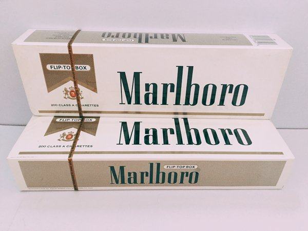 Marlboro Gold Regular Cigarettes 160 Cartons