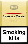 Benson And Hedges Gold Cigatettes
