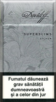 Davidoff Silver Super Slims Cigatettes
