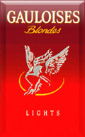 Gauloises Blondes Red Cigatettes