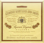 George Karelias And Sons Full Flavored Cigatettes