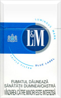 LAndM Blue Label Cigatettes
