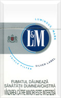 LAndM Silver Label Cigatettes