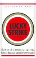 Lucky Strike Original Red Cigatettes