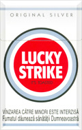 Lucky Strike Original Silver Cigatettes