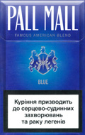 Pall Mall Blue Cigatettes
