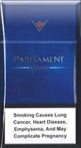 Parliament Carat Blue Cigatettes