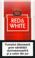 Red And White American Blend Cigatettes