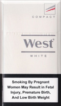 West White Compact Cigatettes