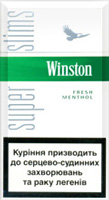 Winston Super Slims Fresh Menthol 100s Cigatettes